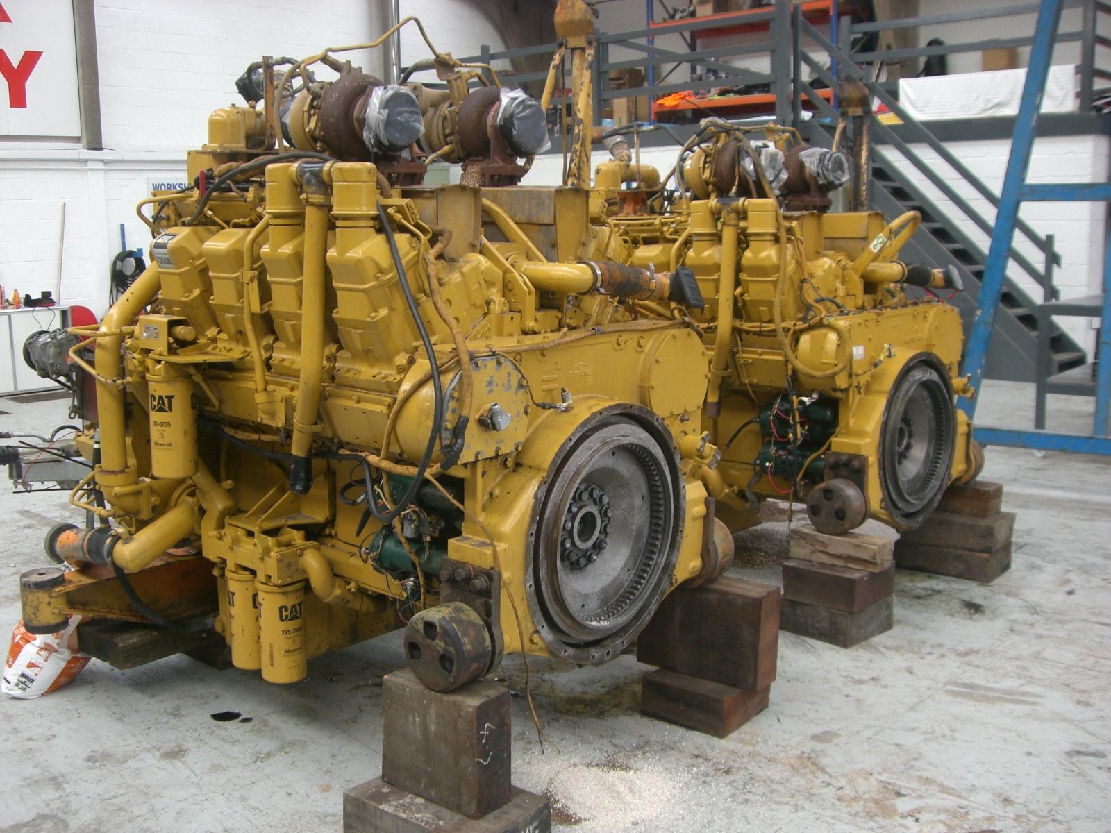 Dismantling Cat 777b Dumper Trucks