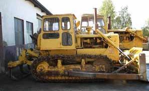 used Caterpillar D6C bulldozer